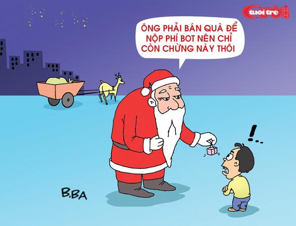 Nỗi niềm của ông già Noel - Ảnh 3.