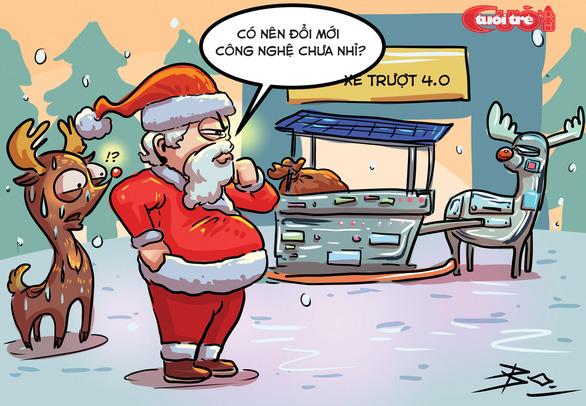 Nỗi niềm của ông già Noel - Ảnh 7.