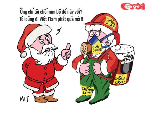 Nỗi niềm của ông già Noel - Ảnh 6.
