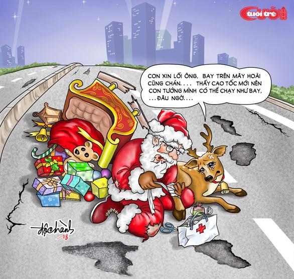 Nỗi niềm của ông già Noel - Ảnh 1.