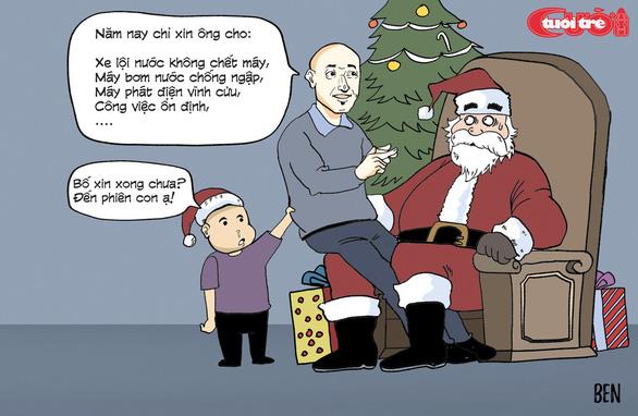 Nỗi niềm của ông già Noel - Ảnh 5.