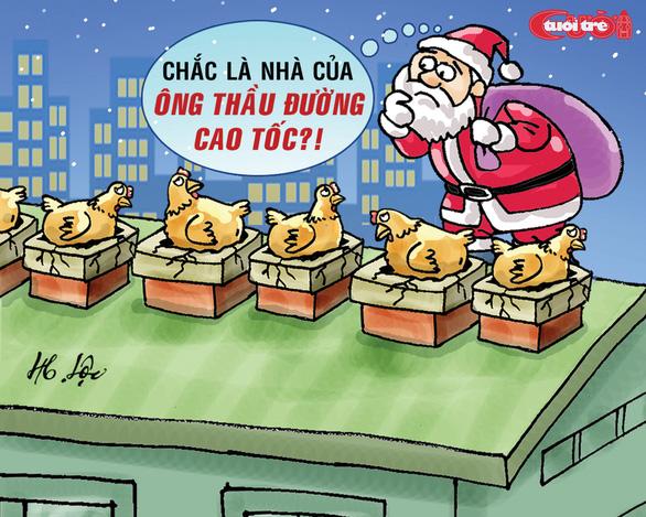 Nỗi niềm của ông già Noel - Ảnh 2.