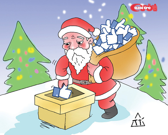 Nỗi niềm của ông già Noel - Ảnh 4.