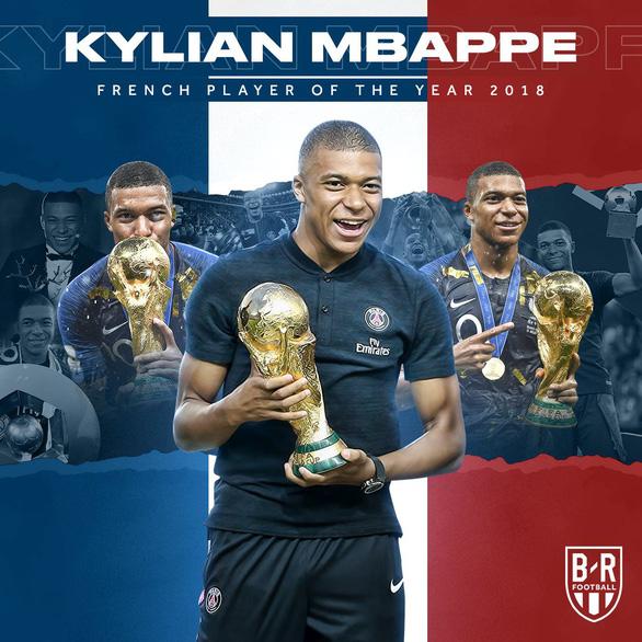 Mbappe nhận giải Cầu thủ xuất sắc nhất nước Pháp 2018 - Ảnh 2.