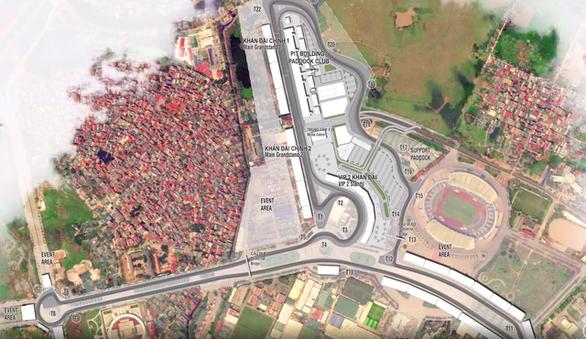 Cống hóa mương hở làm đường đua F1 - Ảnh 1.
