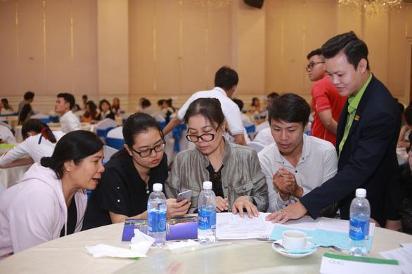 Saigon Intela: thu hút hàng trăm khách hàng tham dự mở bán - Ảnh 1.