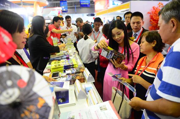Hội chợ du lịch quốc tế TP.HCM triển khai mô hình không giấy - Ảnh 1.