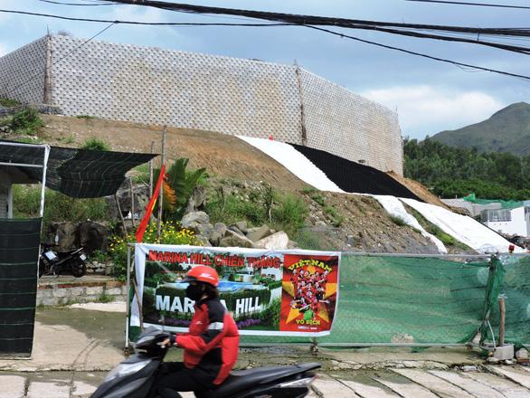 Xây tường thành trái phép còn thách Sở Xây dựng đến dỡ - Ảnh 4.