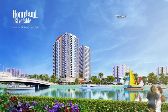 Dự án bất động sản bên sông Giồng Ông Tố - Ảnh 1.