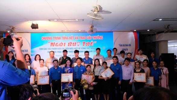 Báo Tuổi Trẻ đoạt 10 giải thưởng Ngòi bút trẻ 2018 - Ảnh 1.