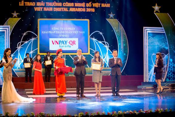 VNPAY được công nhận là ứng dụng công nghệ số xuất sắc năm 2018 - Ảnh 1.