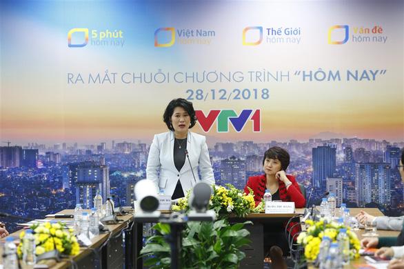 Hôm nay đổi mới VTV1: Đừng để người ta bỏ cơm vì tin tức - Ảnh 3.