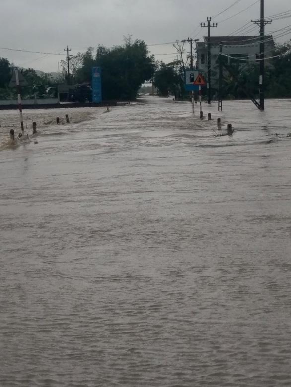 Phú Yên: Mưa lũ ngập đường, hàng ngàn hecta ruộng mất giống - Ảnh 2.
