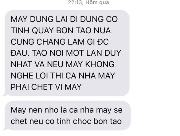 Hai phóng viên điều tra vụ bảo kê chợ Long Biên bị dọa giết - Ảnh 2.