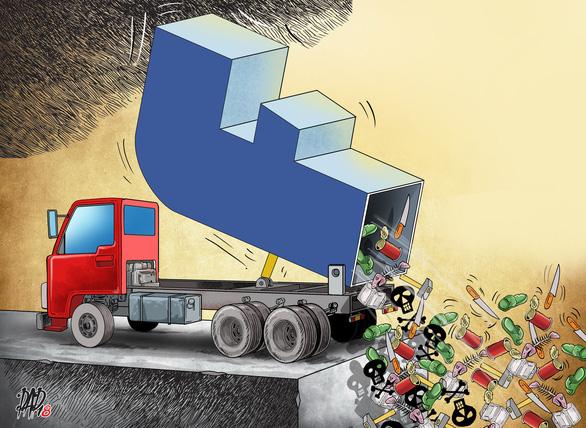 Viết gì trên mạng xã hội để bày tỏ chính kiến không phạm luật? - Ảnh 1.