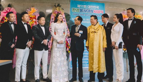 Hoa hậu Tường Linh nhận giải Nghệ sĩ vì cộng đồng ở Hàn Quốc - Ảnh 3.