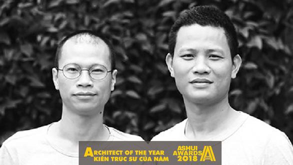 Người thiết kế 'nhà hang' ở Hà Nội được trao giải Kiến trúc sư của năm - Ảnh 1.