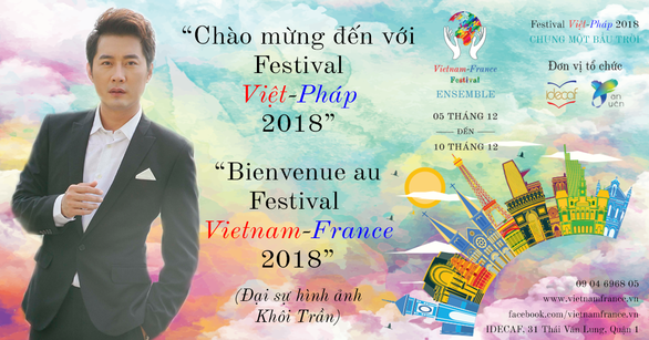 Khôi Trần làm đại sứ hình ảnh cho Liên hoan Việt - Pháp - Ảnh 3.