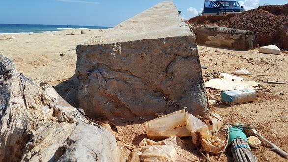 Hàng loạt sai phạm vụ kè biển Tam Quan 80 tỉ đổ sập - Ảnh 3.