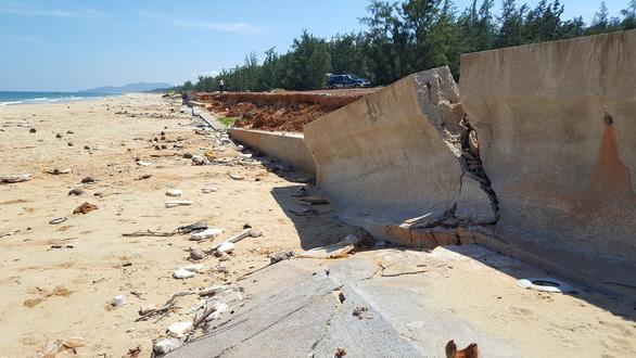 Hàng loạt sai phạm vụ kè biển Tam Quan 80 tỉ đổ sập - Ảnh 2.