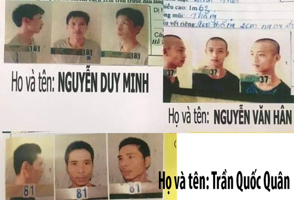 Bắt được 2 đối tượng trốn trại tạm giam Công an Kiên Giang - Ảnh 1.