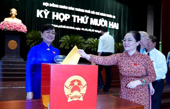 TP.HCM: Bà Trương Thị Ánh đạt nhiều phiếu tín nhiệm cao nhất - Ảnh 1.