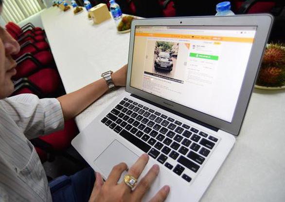 Mua ô tô trực tuyến: xu hướng mới của phái mạnh - Ảnh 1.