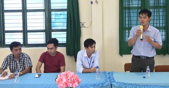 Chồng nữ phụ huynh xin lỗi thầy giáo Hồ Văn Khánh - Ảnh 2.