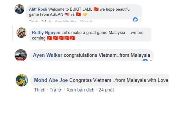 Cổ động viên Malaysia chúc mừng tuyển Việt Nam ngay lập tức! - Ảnh 3.