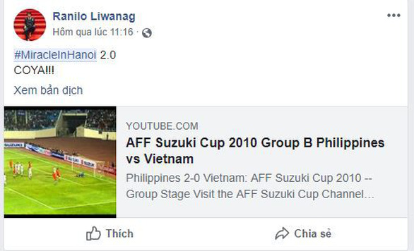 Dân lẫn cầu thủ Philippines: Phép mầu Hà Nội 2.0 sắp diễn ra ở Mỹ Đình! - Ảnh 2.