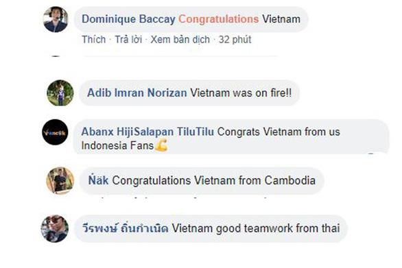 Cổ động viên Malaysia chúc mừng tuyển Việt Nam ngay lập tức! - Ảnh 4.
