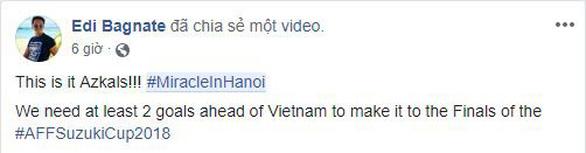 Dân lẫn cầu thủ Philippines: Phép mầu Hà Nội 2.0 sắp diễn ra ở Mỹ Đình! - Ảnh 3.