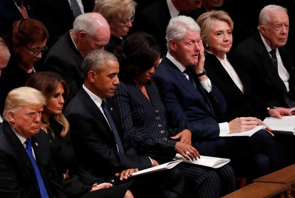 4 cựu tổng thống Mỹ dự tang lễ tổng thống Bush cha - Ảnh 5.