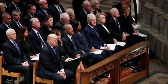 4 cựu tổng thống Mỹ dự tang lễ tổng thống Bush cha - Ảnh 1.
