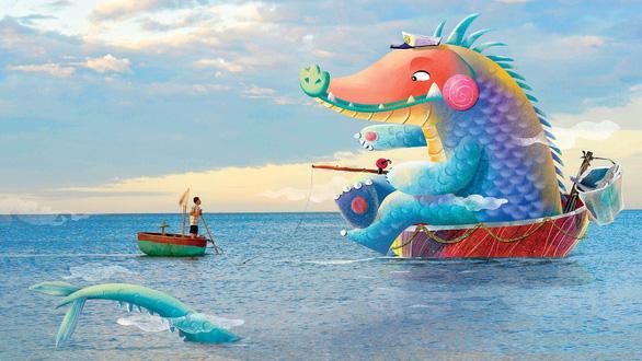 Tranh minh họa của tác giả Việt Nam nhận giải thưởng ASEAN - Ảnh 1.