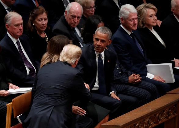 4 cựu tổng thống Mỹ dự tang lễ tổng thống Bush cha - Ảnh 2.