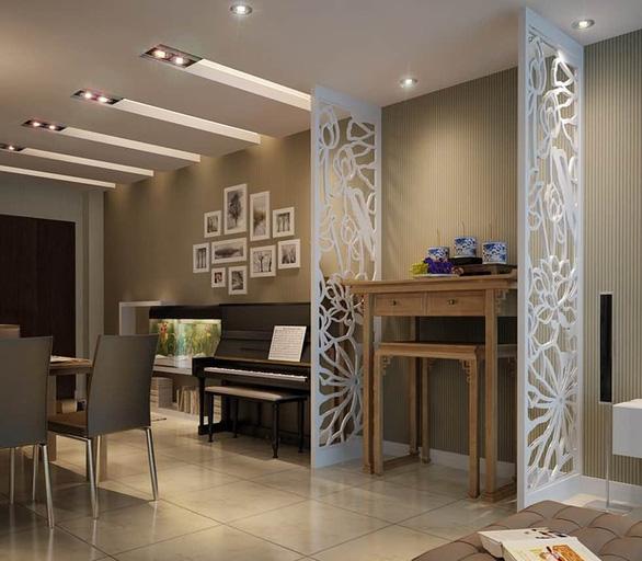 Vách ngăn CNC, giải pháp phân chia không gian tối ưu dành cho nhà nhỏ - Ảnh 12.