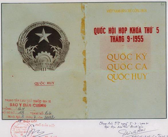 Tác giả quốc huy Việt Nam được đặt tên phố ở Hà Nội - Ảnh 1.