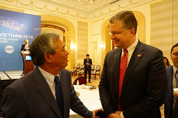 Đại sứ Mỹ Kritenbrink:  Thành công  của Việt Nam là lợi ích của Mỹ - Ảnh 1.