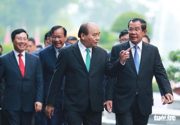 Việt Nam - Campuchia nhất trí phương châm 16 chữ vàng - Ảnh 1.