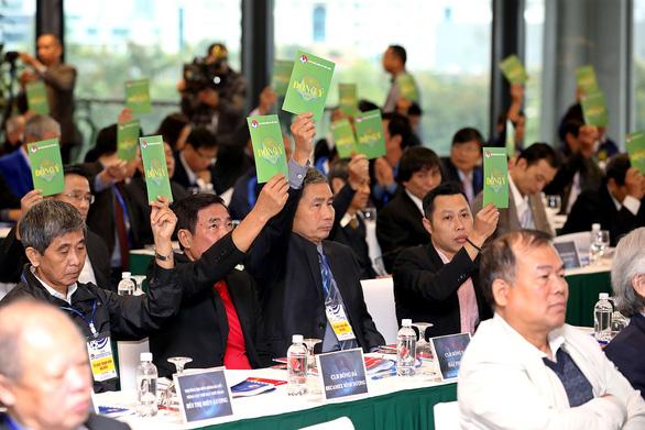 Thứ trưởng Lê Khánh Hải trúng cử chủ tịch VFF khóa 8 - Ảnh 1.
