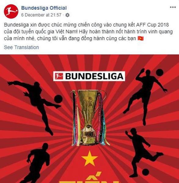 Bundesliga chúc tuyển VN vô địch bằng tiếng Việt: Tiến đến vinh quang - Ảnh 2.