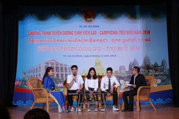 Tuyên dương 130 sinh viên Lào, Campuchia tiêu biểu - Ảnh 3.