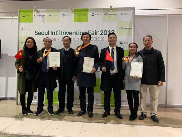 Phần mềm Quản lý y tế của nhóm bác sĩ Việt nhận cúp vàng ở Hàn Quốc - Ảnh 1.