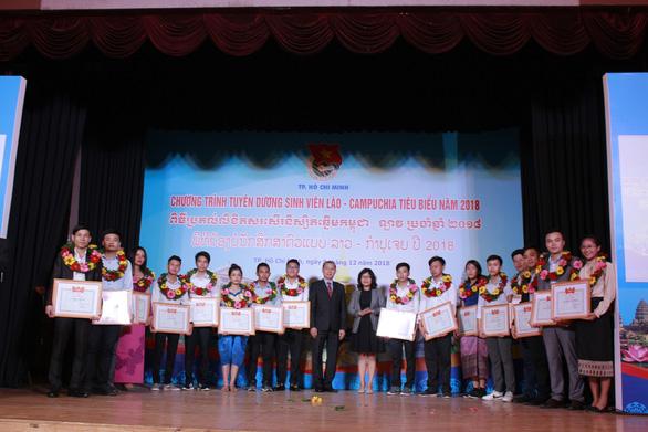 Tuyên dương 130 sinh viên Lào, Campuchia tiêu biểu - Ảnh 1.