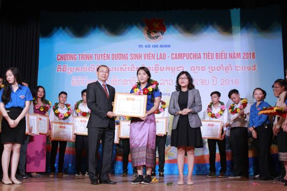 Tuyên dương 130 sinh viên Lào, Campuchia tiêu biểu - Ảnh 2.