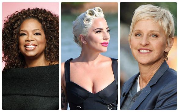 Oprah Winfrey, Lady Gaga... là phụ nữ quyền lực nhất Hollywood 2018 - Ảnh 1.