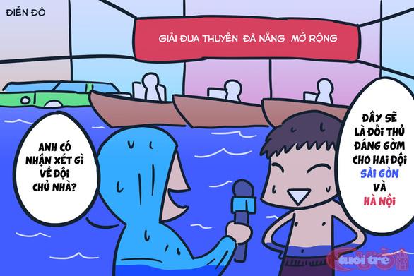 Đà Nẵng ngập qua tranh biếm họa - Ảnh 5.