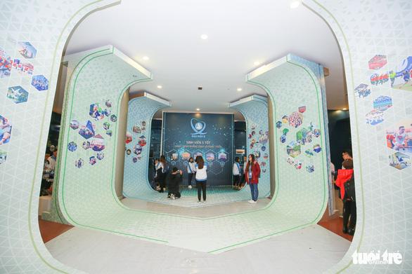 Robot, máy in 3D tại triển lãm sinh viên Việt Nam - Ảnh 7.