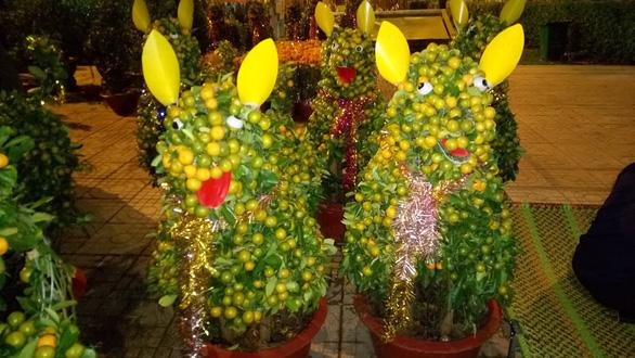 Dân Sài Gòn - Hà Nội bỏ tiền triệu sắm linh vật chó chơi Tết - Ảnh 4.